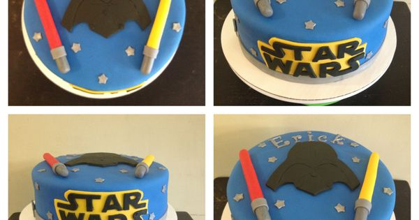 Star wars cake, Star Wars and Round cakes on Pinterest