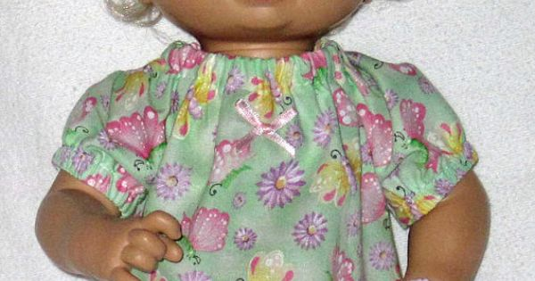 My baby alive beautiful butterfly print top set by dakocreations baby alive doll clothes