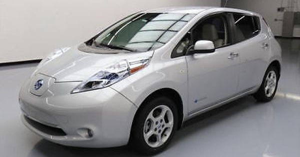 Nissan Leaf 2012 Nissan Leaf Sl Zero Emission Electric Nav 23k Mi