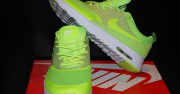 Nike Air Max Thea Neon Neonowe Zolte Zielone Biale 5854180127 Oficjalne Archiwum Allegro Sneakers Nike Nike Sneakers