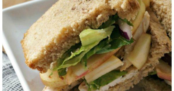 Copycat Panera Roasted Turkey, Apple, and Cheddar Sandwich