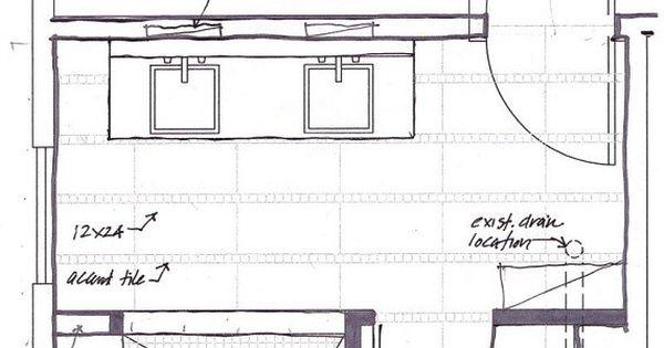 Small Master Bathroom Floor Plans With No Tub Designs
