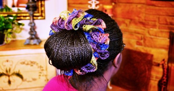 Crochet Hair Wrap : Wraps, Crochet and Crochet hair on Pinterest