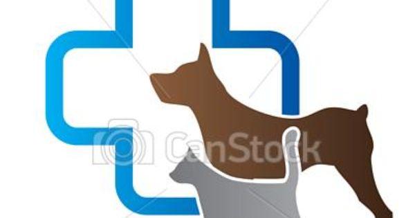 Vector Vet Sign Stock Illustration Royalty Free Illustrations Stock Clip Art Icon Stock Clipart Icons Logo Line Pet Logo Design Pet Clinic Veterinary