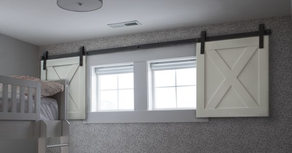 Mini Barn Door Shutters Perfect For Small Spaces