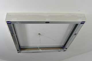 Photo Fabriquer Coffre Eclairage 6 Plafond Suspendu Eclairage Plafond Placo