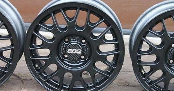 15 Bbs Alloys Wheels 4x100 Vw Golf Polo Caddy Lupo Corrado Arosa Bmw E30 Mx5 Wheels With Tyres Car Wheels Tyres Trims Vw Golf Car Wheels Bmw E30