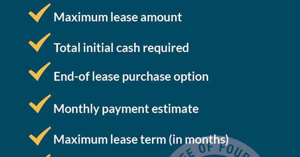 No Cost, No Commitment Pre-Approvals #financing - lease payment calculator