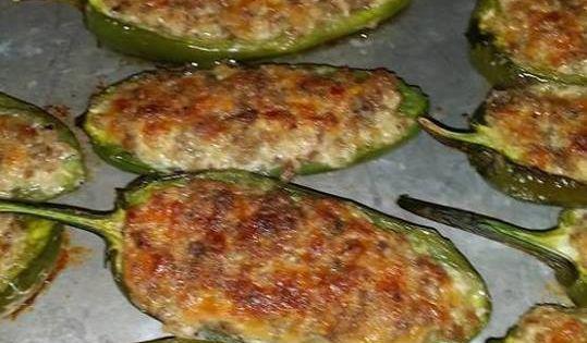 Sausage Stuffed Jalapeños ~ Recipe of today | Best recipes ...