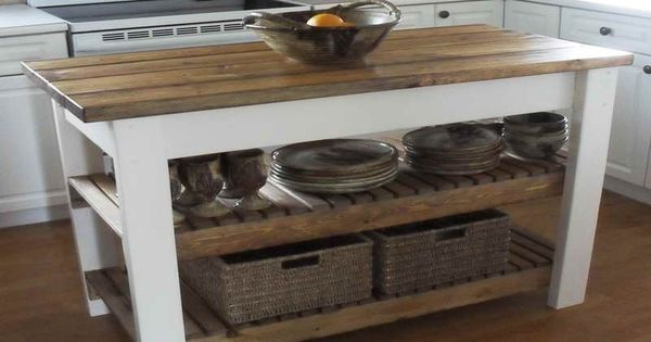 Kitchen Island Diy Projects: How To Build Diy Kitchen Island Plans