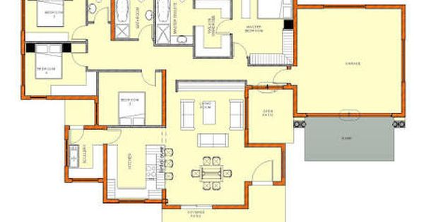 Image Result For South African House Plans House Plans South Africa Single Storey House Plans House Plans With Photos
