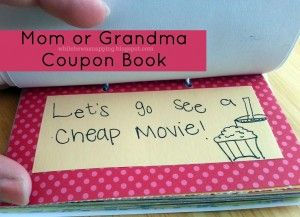Mom Or Grandma Gift Activity Coupons Free Printable While He Was Napping Coupon Book Diy Mom Coupon Book Birthday Presents For Mom Here you can find the biggest available. mom or grandma gift activity coupons
