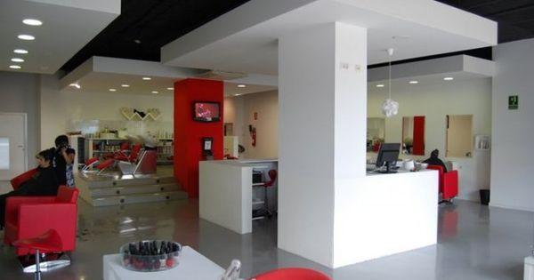Hairdresser peluqueria oxi2 salon minimalista - Decoracion minimalista salon ...