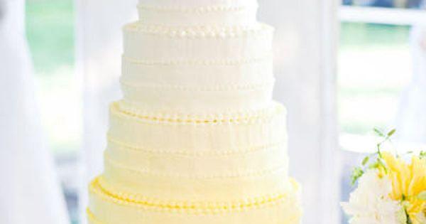 Yellow Wedding Cake yellow cake wedding