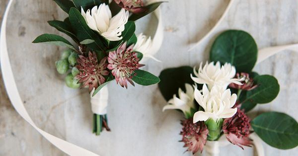 Botanical Wedding Inspiration in Brooklyn - #elegant #gold #green