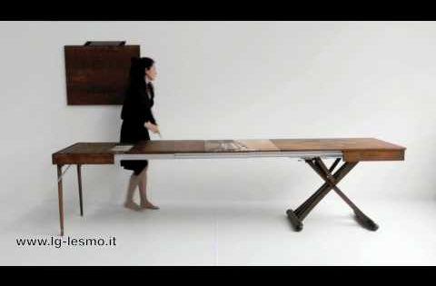 LG Lesmo Tavolo Extendable Cofee Table Desks