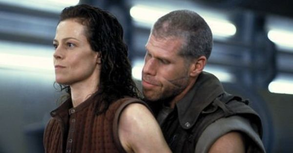 Ron Perlman As Johner About To Find Out That He Is Messing With