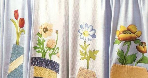Cortina de patch para pia cocina patch pinterest - Apliques para cortinas ...