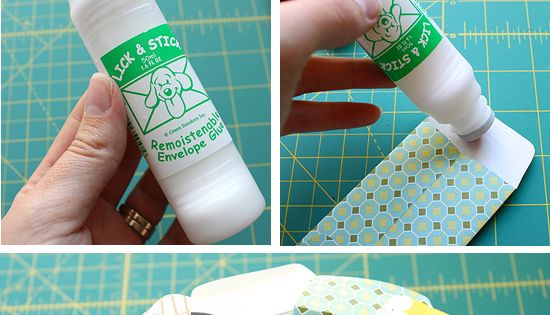 Small Gift Wrap with Small Envelope....Tutorial: Easy Tiny Envelopes