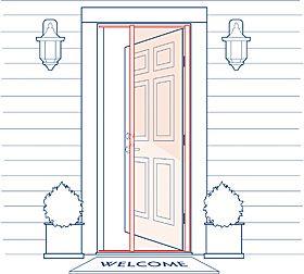 Phantom Screen Doors Screens Doors Screened Doors Screening Door