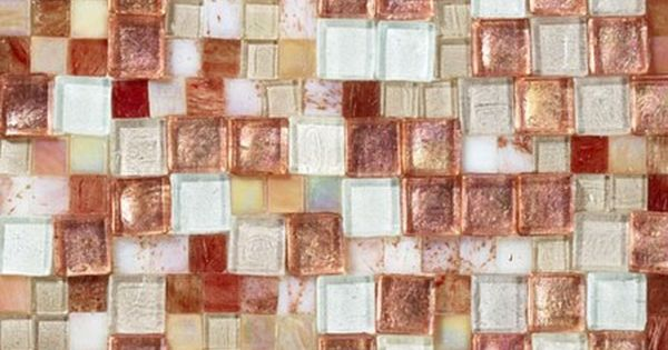 Sicis Structura Copper Sheet Size 11 1 8 X 10 Chip Size Random Mosaic Glass Supplies Copper Tiles