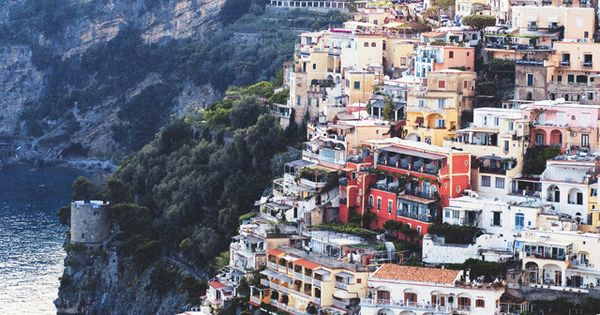 "Positano, ITALY. Steinbeck said it best: ""Positano bites deep. It is a"