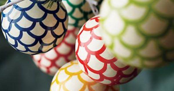 Scallop Ornaments