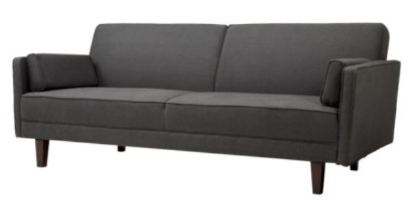 thompson sofa bed stone target i like this retro style i think i like this color the. Black Bedroom Furniture Sets. Home Design Ideas