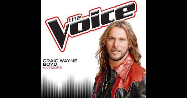 Craig Wayne Boyd Anymore Studio Version The Voice 7