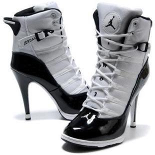 Jordan high heels Más   Nike high heels, Boots, Heels