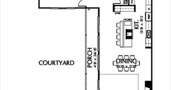 Modern 3 beds 3 5 baths 3400 sq ft plan 449 2 main floor for 3400 square feet house plan