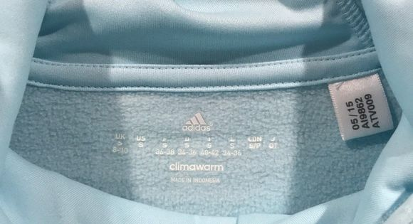 Lightweight Baby Blue Climawarm Hoodie This Adorable Baby Blue