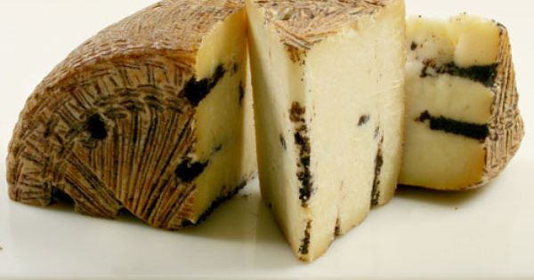 Moliterno Black Truffle Pecorino. From the Italian island ...