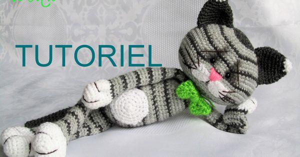tutoriel de doudou chat tricoter en crochet doudous pinterest doudou chat jeu jouet et. Black Bedroom Furniture Sets. Home Design Ideas
