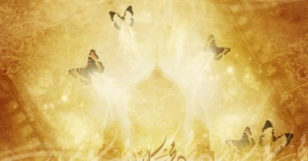 Abstract Golden Islamic Design Backgrounds for PowerPoint ...