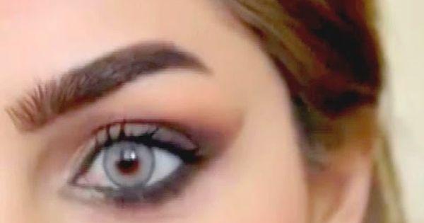 كيفية رسم الحاجب بشكل مميز فيديو بالشرح Bad Makeup Powdered Eyebrows Eyebrow Shaper