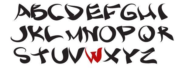 Vesa Riste Asian Font Lettering Fonts