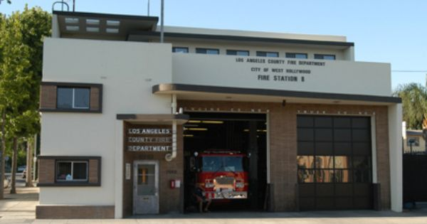 Lacofd Station 8 West Hollywood Ca Fire Trucks House Fire Fire Rescue