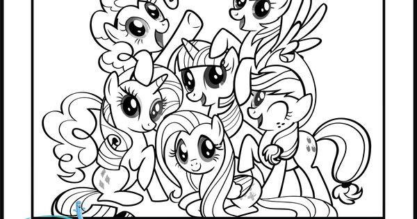 My Little Pony Coloring Pages Kolorowanki Pinterest