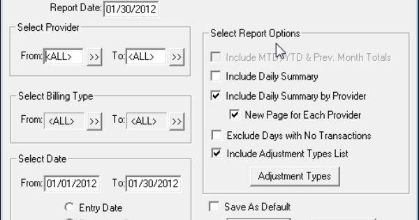 Dentrix Tip Tuesdays Provider A R Totals Report Provider