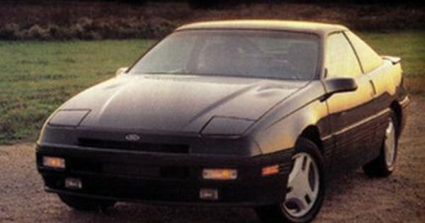 1989 Ford Probe I Had One Very Similar To This Bought It In