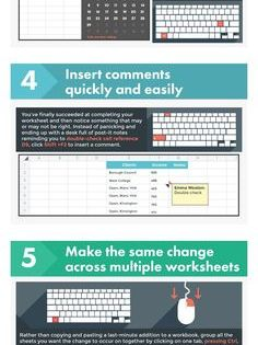 8 Time-Saving Excel Shortcuts Worth Memorizing [Infographic], via @HubSpot