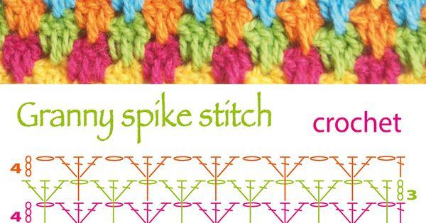 Crochet Stitches Diagrams Pinterest : diagram! Puntos fantas?a en crochet - Crochet stitches Pinterest ...