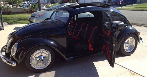 Rattle Can Paint Job >> Custom Cars with Suicide Doors | Suicide doors and a clean black paint job. | BW Beetle ...