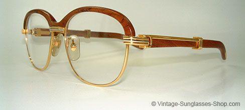 Cartier Malmaison Palisander Rosewood Cartier Glasses Men Vintage Glasses Men Sunglasses Men Vintage