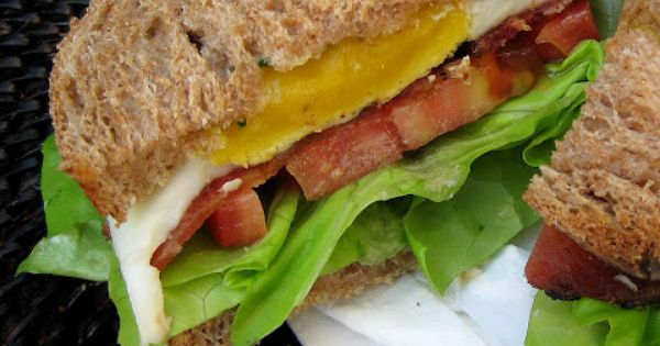 BELT (Bacon Egg Lettuce Tomato) Sandwich Recipe — Dishmaps