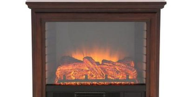 Hampton Bay Derry 32 In Compact Infrared Electric Fireplace In
