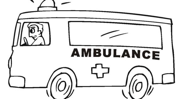 ambulance coloring pages for designs wiki all about