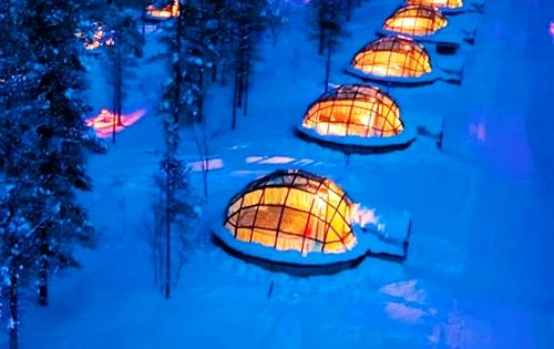 Rent a Glass Igloo in Finland to Watch the Northern Lights...on my