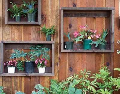 I like this idea for planter boxes. Have spare wood will build.
